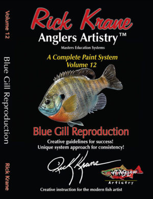 PAINTING A BLUEGILL
