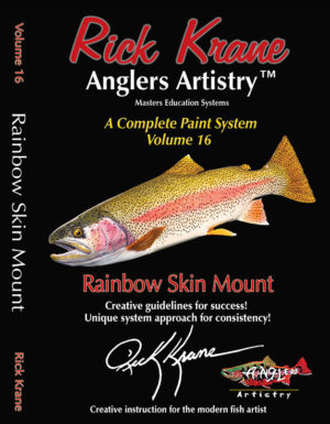 PAINTING A RAINBOW TROUT