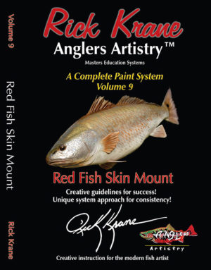 PAINTING A REDFISH SKIN