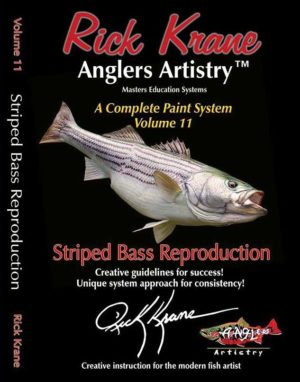 PAINTING A STRIPED BASS