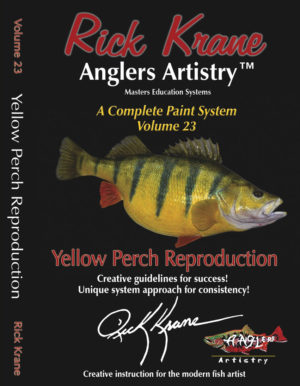 PAINT A YELLOW PERCH
